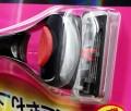 Dao cạo 5 lưỡi kép KAI(1 thân,1 lưỡi,hộp đỏ)