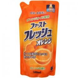 Nước rửa chén bát và rau củ dạng túi 500ml Daichi