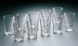Bộ 4 cốc thủy tinh 285ml dáng cao