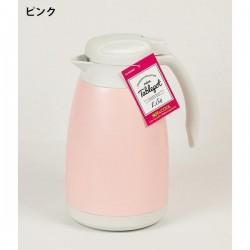 Phích giữ nhiệt bằng thép 1.5L màu hồng