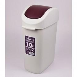 Thùng đựng rác 10L nắp nâu