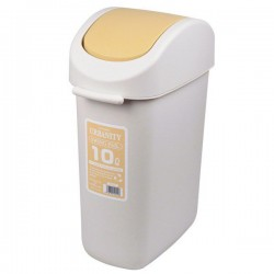 Thùng đựng rác 10L nắp vàng