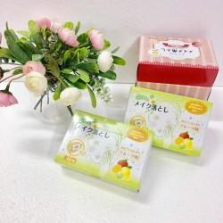 Set 30 tờ khăn ướt tẩy trang hương hoa quả