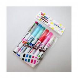 Set 5 bút dạ và 1 bút tẩy màu