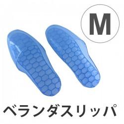 Dép đi trong nhà tắm màu xanh size M