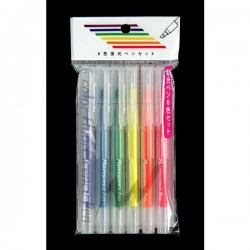Set 6 bút đánh dấu, nhớ dòng các màu