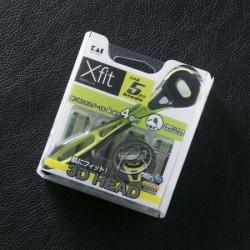Set dao cạo râu 5 lưỡi kép Xfit KAI (1 thân, 4 lưỡi thay thế) - hộp vuông