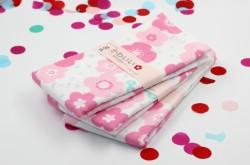 Khăn tắm Nhật Nissen mẫu hoa
