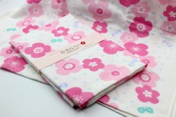 Khăn tắm Nhật Nissen mẫu hoa (size to)