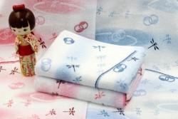 Khăn tắm Nhật Nissen mẫu chuồn chuồn