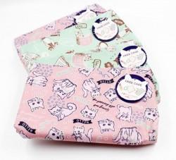 Túi đựng mỹ phẩm, đồ trang điểm màu xanh, hồng (mẫu 3)