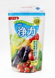 Bột rửa rau củ, thịt cá chiết xuất từ vỏ sò Jyoriko (kèm thìa đong)