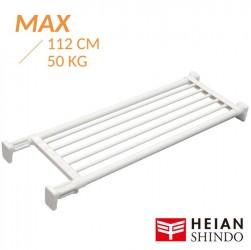 Kệ chia ngăn không cần khoan vít Heian 73cm kéo dài 112cm (M4)