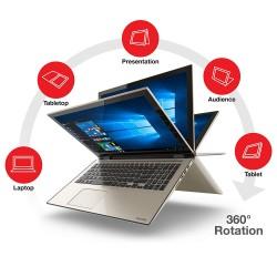 TOSHIBA Satellite  L55W-C5220 Core i7-5500U/8G/1TB/touch 15.6/2-in-1 Laptop/Rose Gold